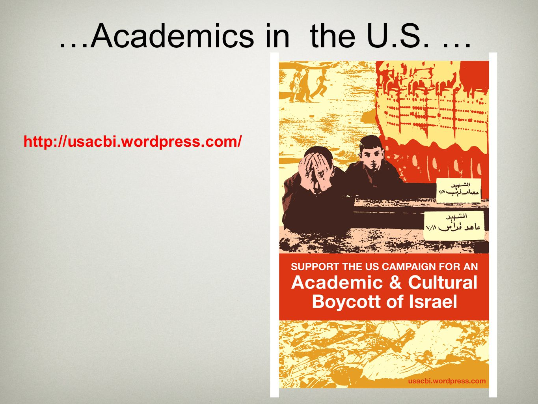 …Academics in the U.S. … http://usacbi.wordpress.com/