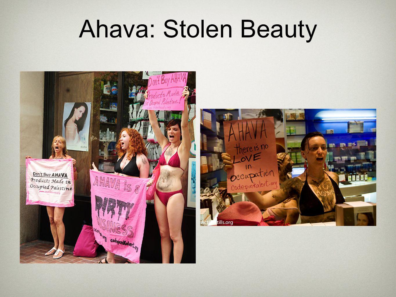 Ahava: Stolen Beauty