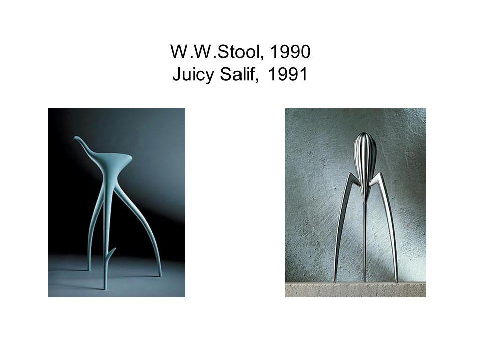 W.W.Stool, 1990 Juicy Salif, 1991