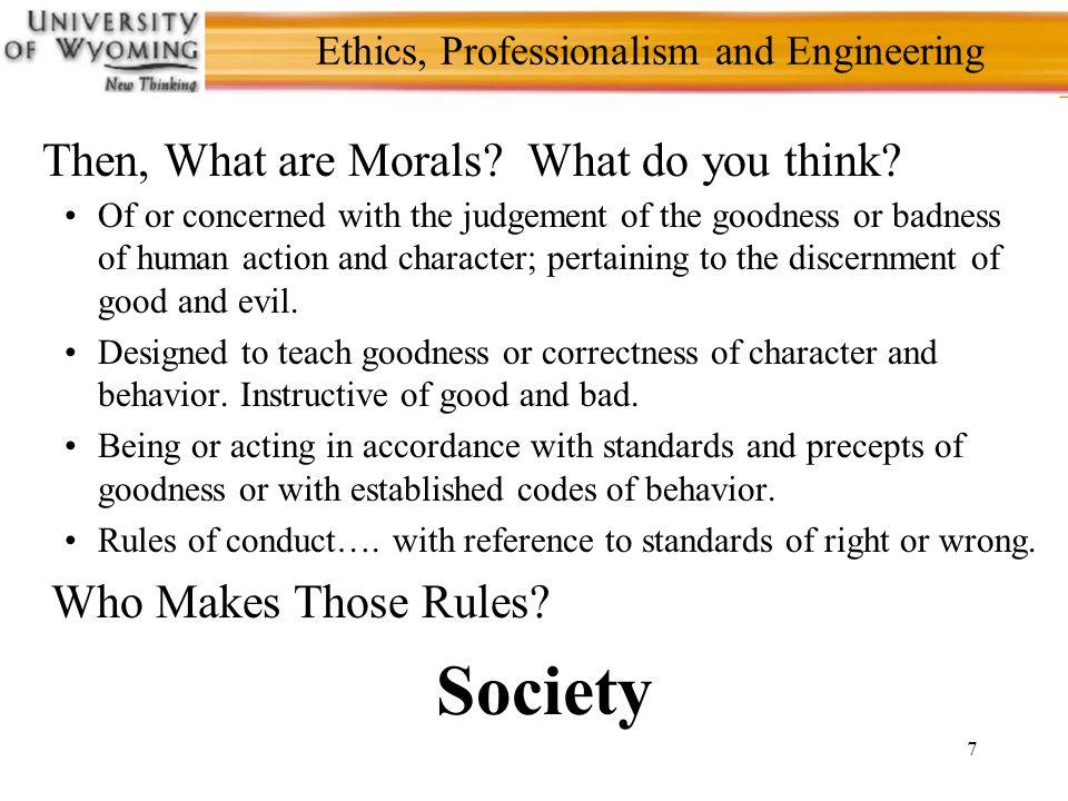 18 Ethics, Professionalism and Engineering NSPE Code of Ethics for Engineers II.