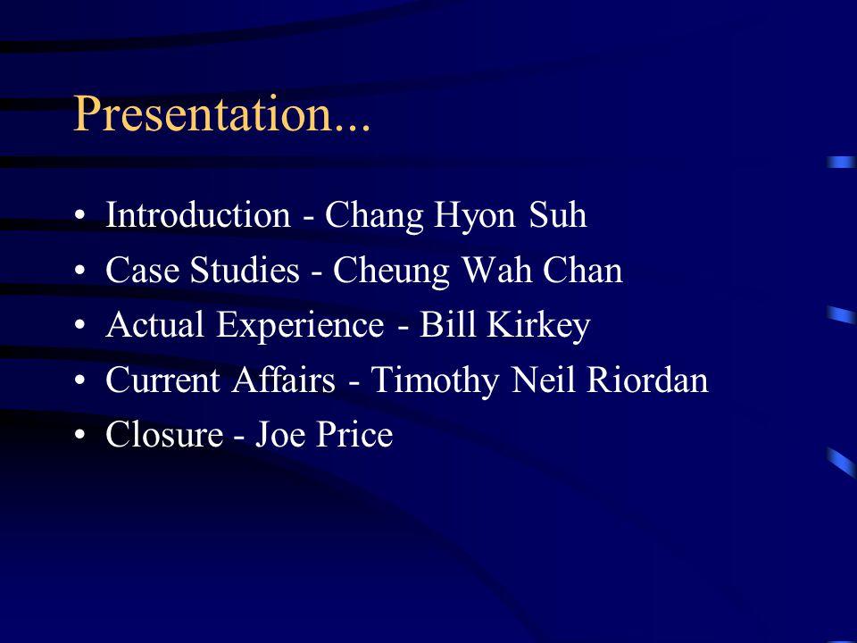 Presentation...