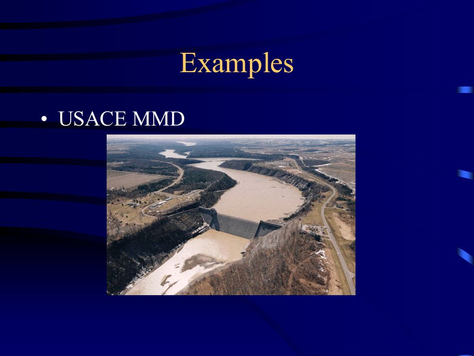 Examples USACE MMD
