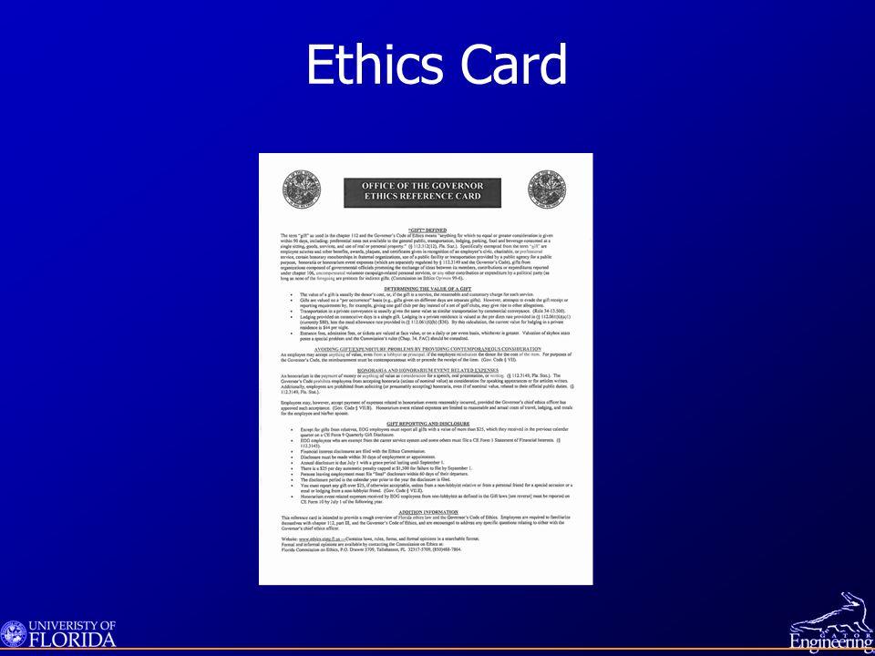 Ethics Test