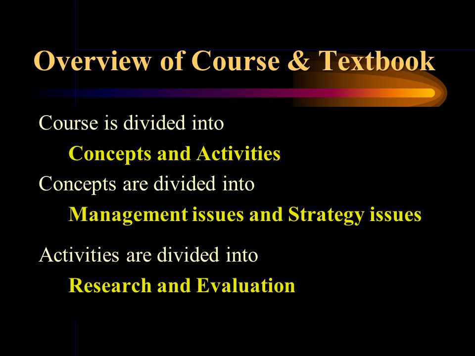 Welcome to Class 2 Overview& Corporate Governance: Part One Chapter 1