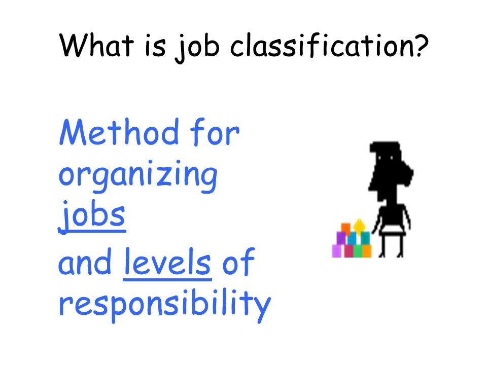 Organizational setting Some factors affecting distinction in grades HR management: Diversity/scope/stability of programmes Geographic locations Delegated authority Financial management: Value, reliability & nature of funding Currency transactions Procurement: Technical complexity Variety of goods & services procured
