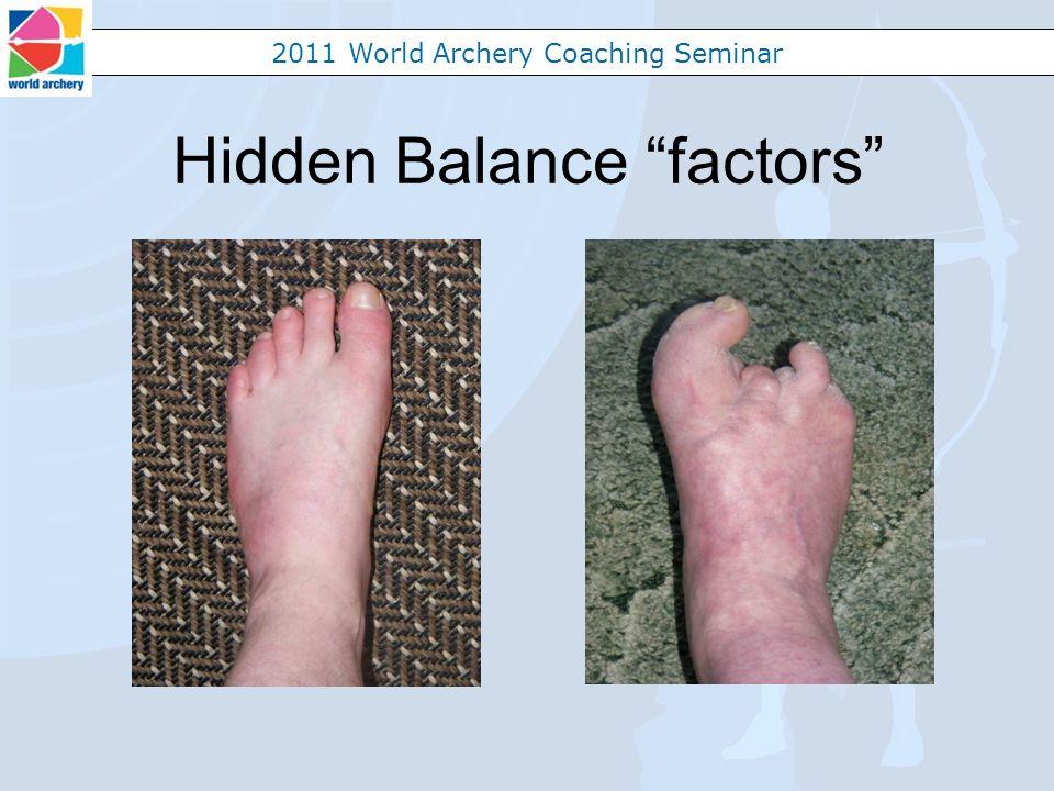 2011 World Archery Coaching Seminar Hidden Balance factors