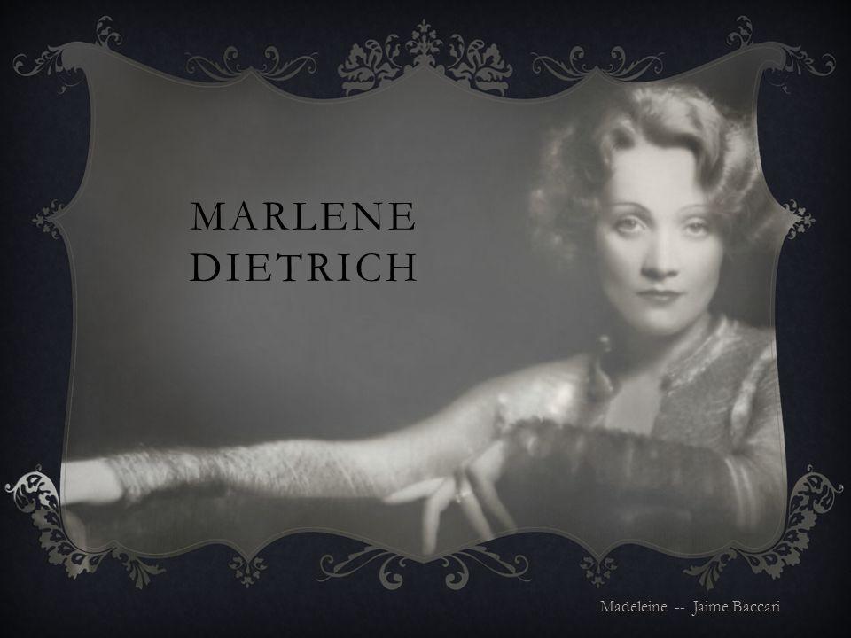 Born: December 27 th, 1901 Father: Louis Erich Otto Dietrich Mother: Wilhelmina Elisabeth Josephine Felsing Sister: Elisabeth