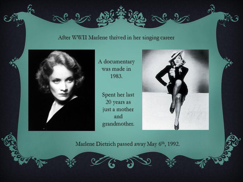 WORKS CITED Media: Blonde Venus.Dir. Sternberg Josef Von.