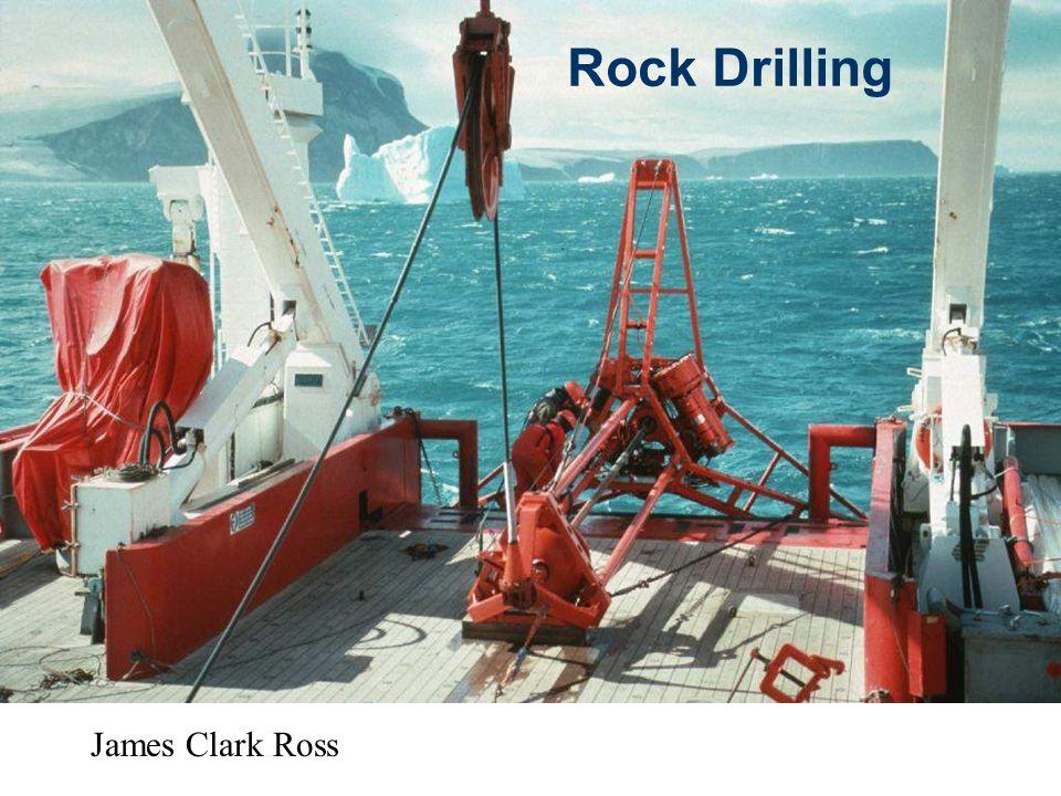 Rock Drilling James Clark Ross