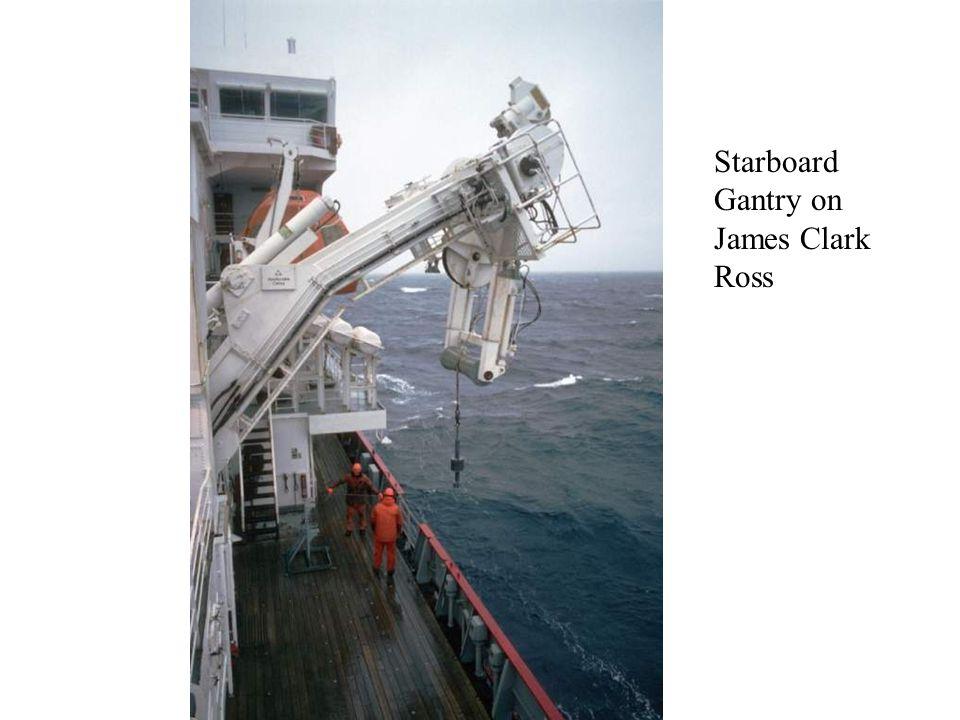 Starboard Gantry on James Clark Ross