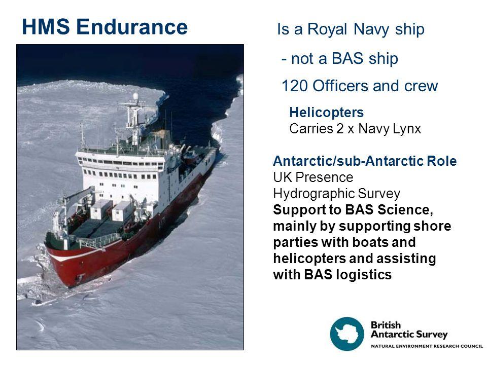 All hands on deck for cargo work – Ernest Shackleton