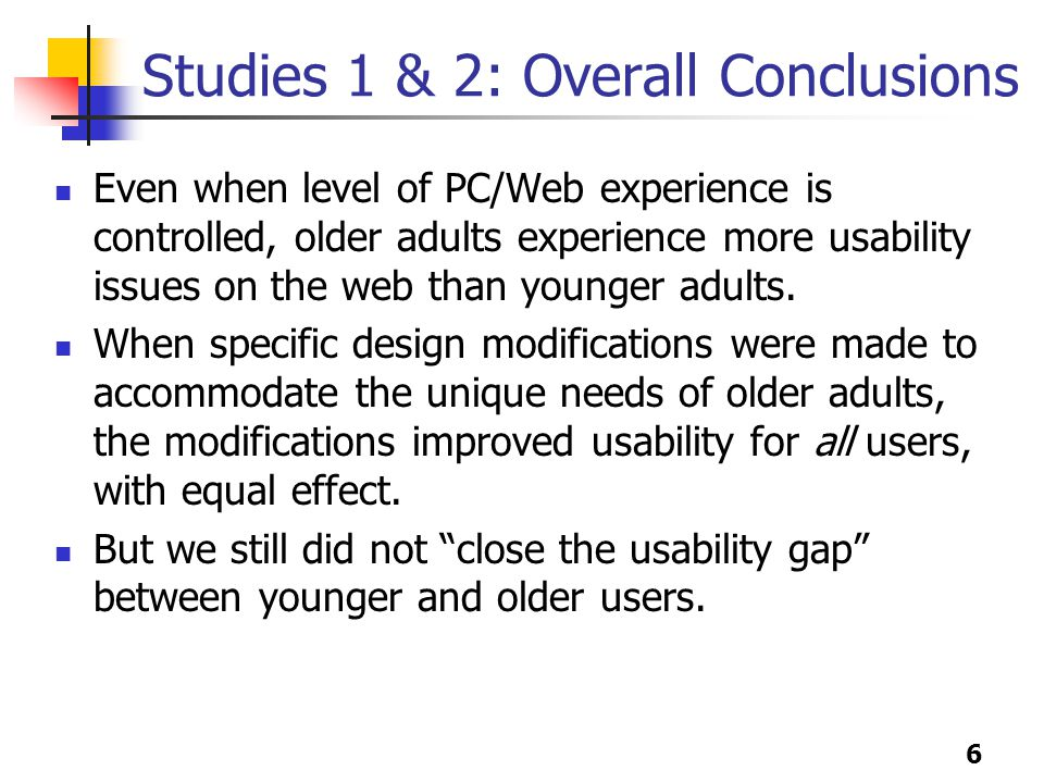 7 Lesson 1: Reading Older adults tend to read most of the text on a page.