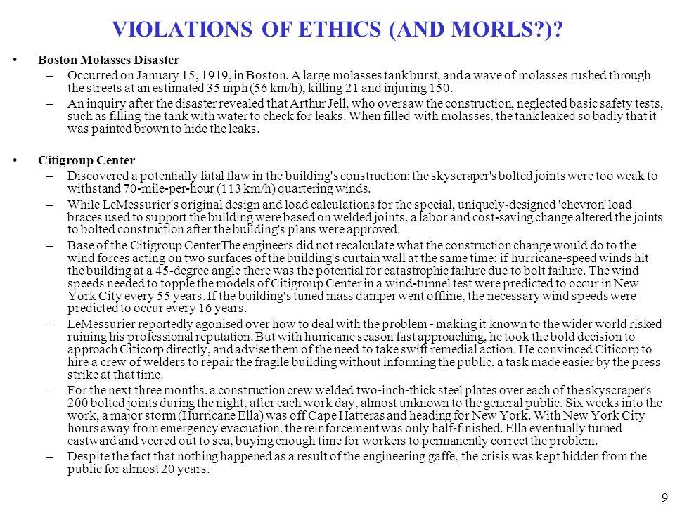 30 ETHICS INDIVIDUAL HOMEWORK ASSIGNMENT Examine the literature, news, magazines, etc.