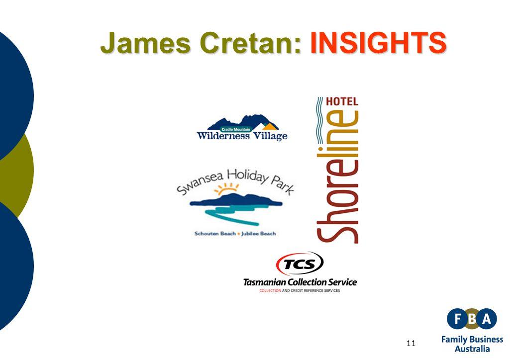 11 James Cretan: INSIGHTS