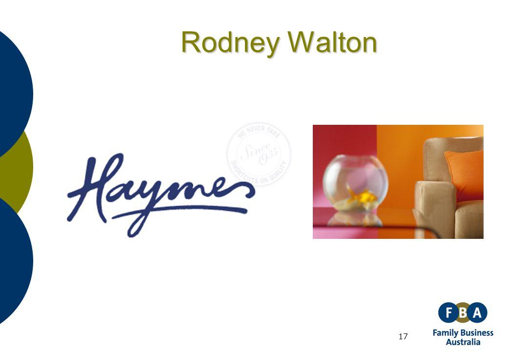 17 Rodney Walton