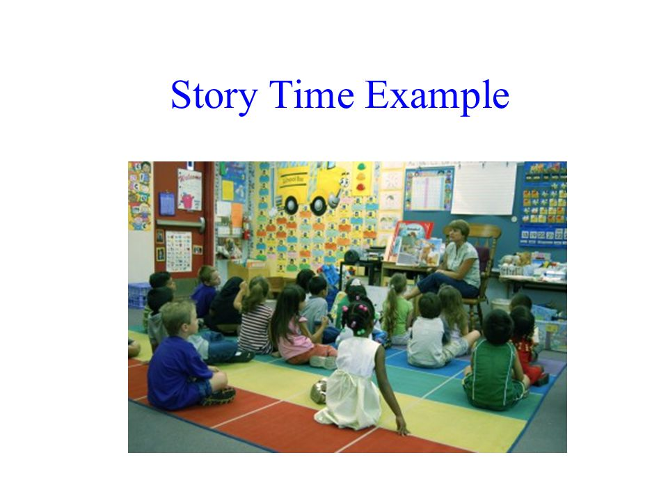 Story Time Example