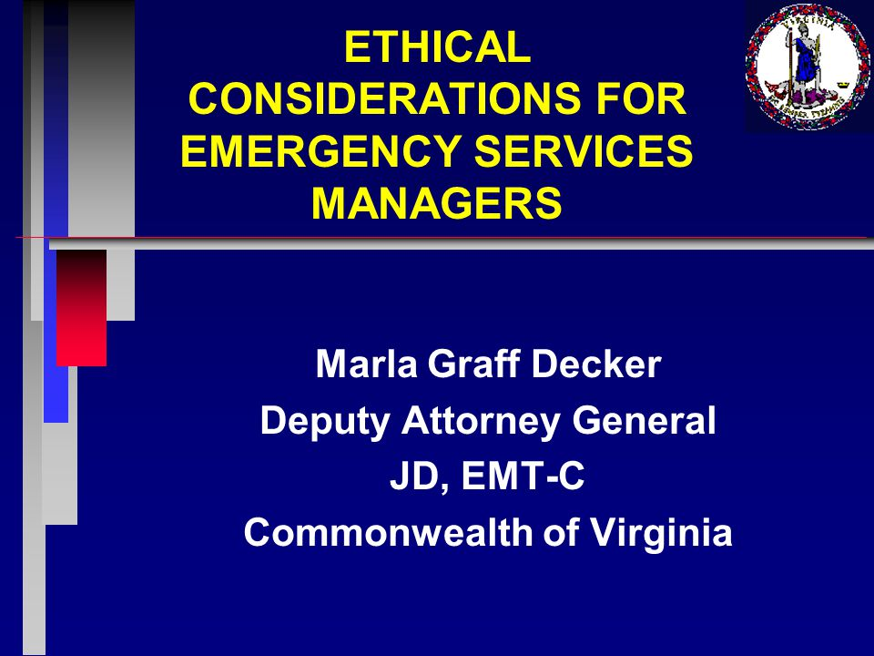 Ethics Vs.