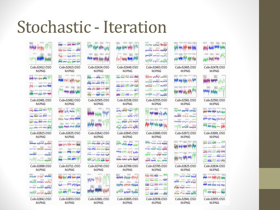 Stochastic - Iteration