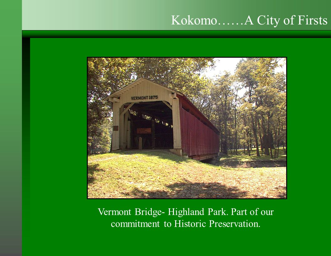 Vermont Bridge- Highland Park.Part of our commitment to Historic Preservation.