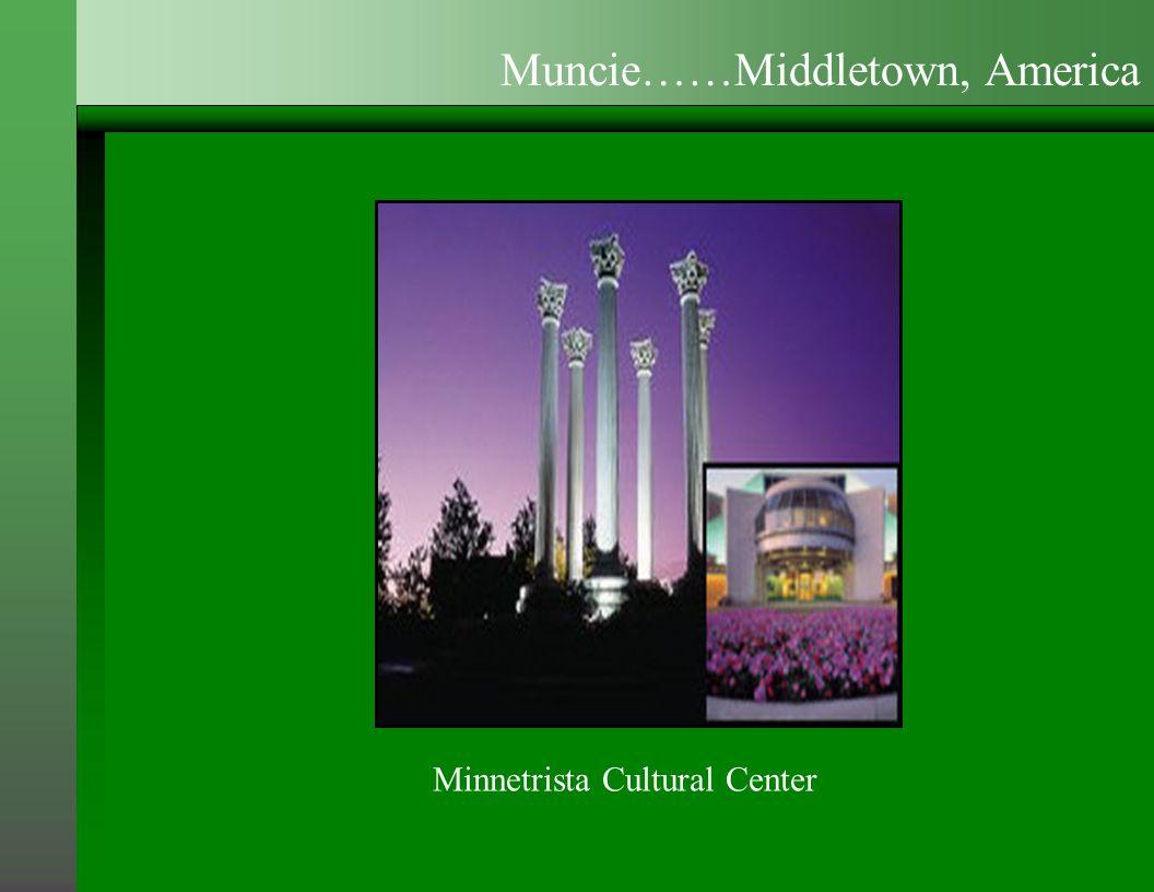 Minnetrista Cultural Center Muncie……Middletown, America