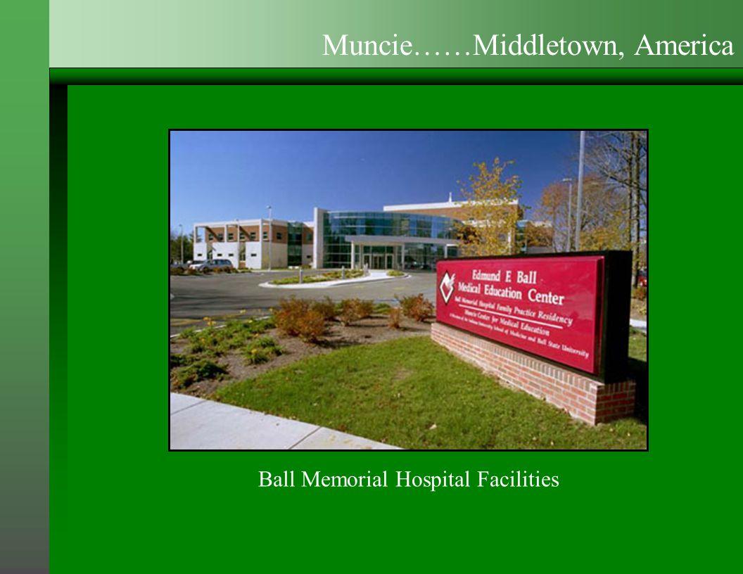 Ball Memorial Hospital Facilities Muncie……Middletown, America