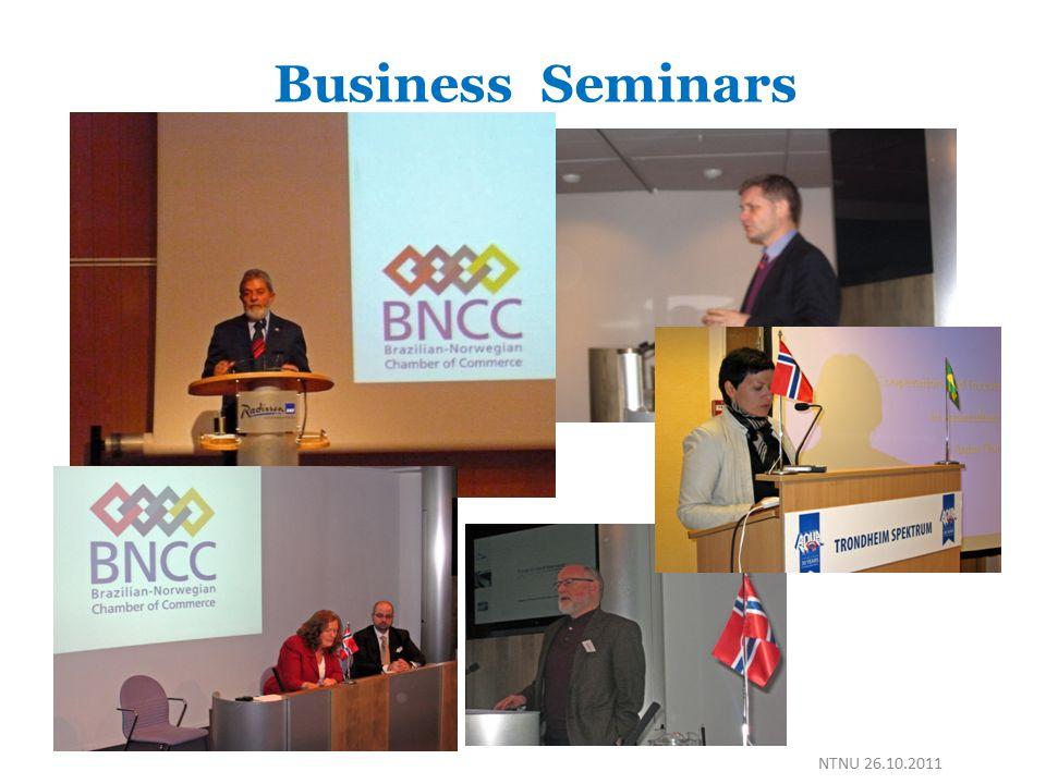 Business Seminars NTNU 26.10.2011