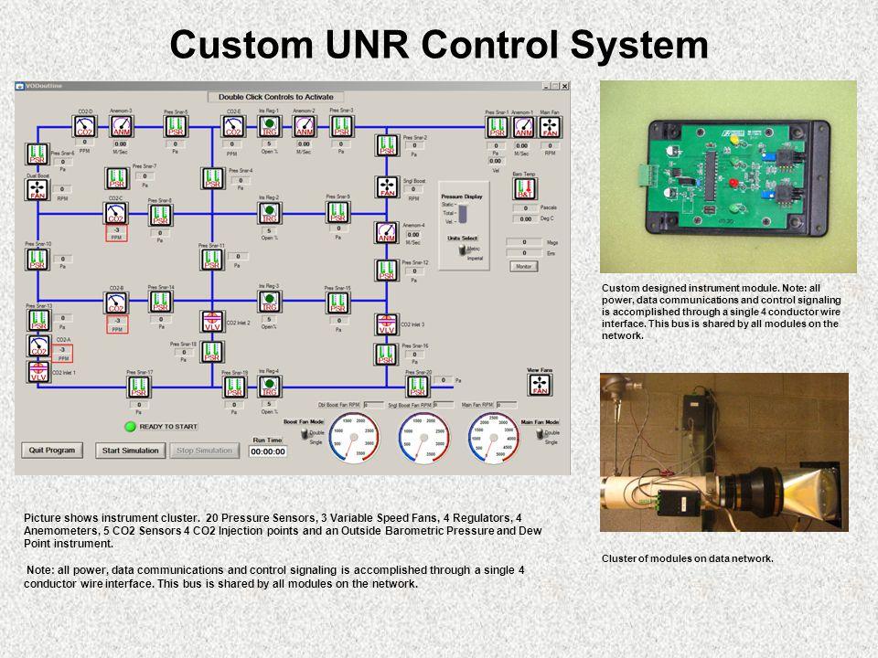Custom UNR Control System Custom designed instrument module.
