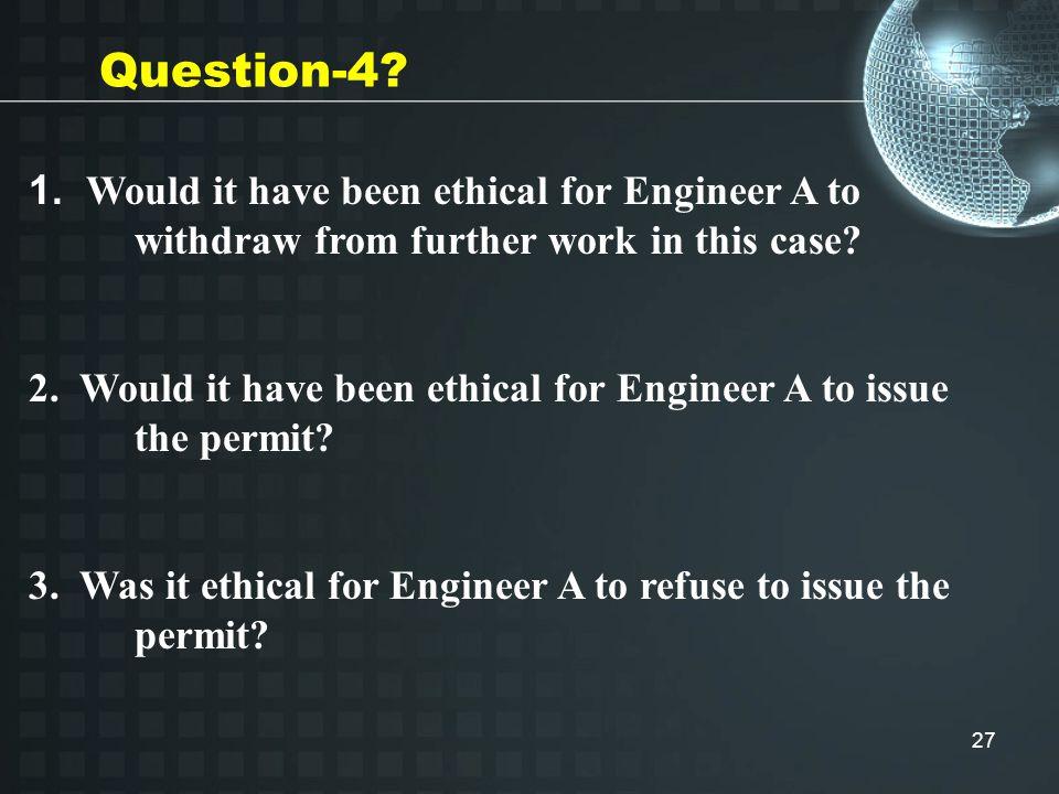 27 Question-4. 1.