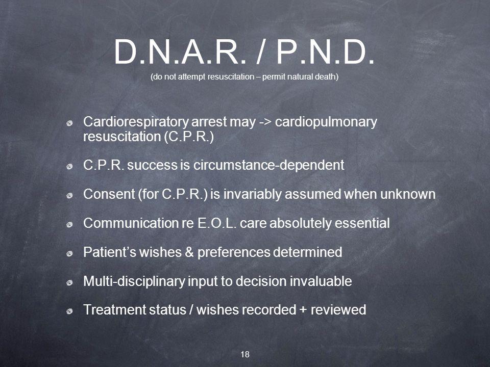 D.N.A.R. / P.N.D.