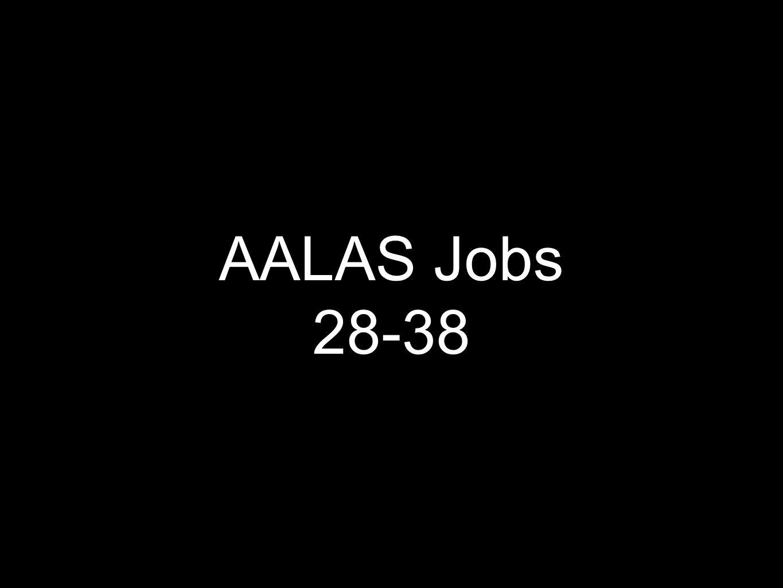 AALAS Jobs 28-38