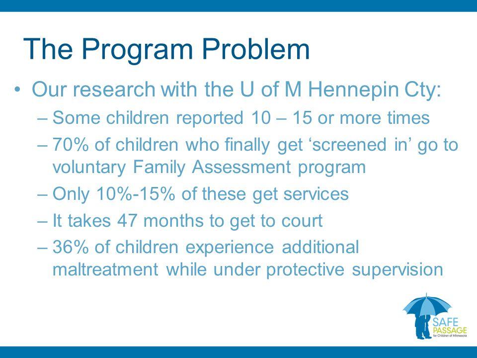 The Program Problem – Cont.
