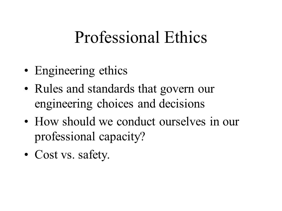 What is ethics? Ethics is the study of morals The application of morals Analysis of moral choices