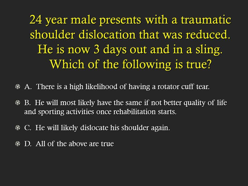 Posterior SC dislocations