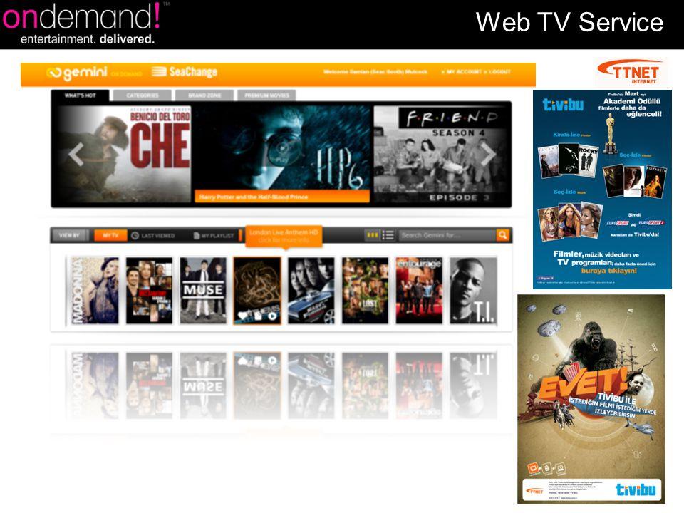 Web TV Service