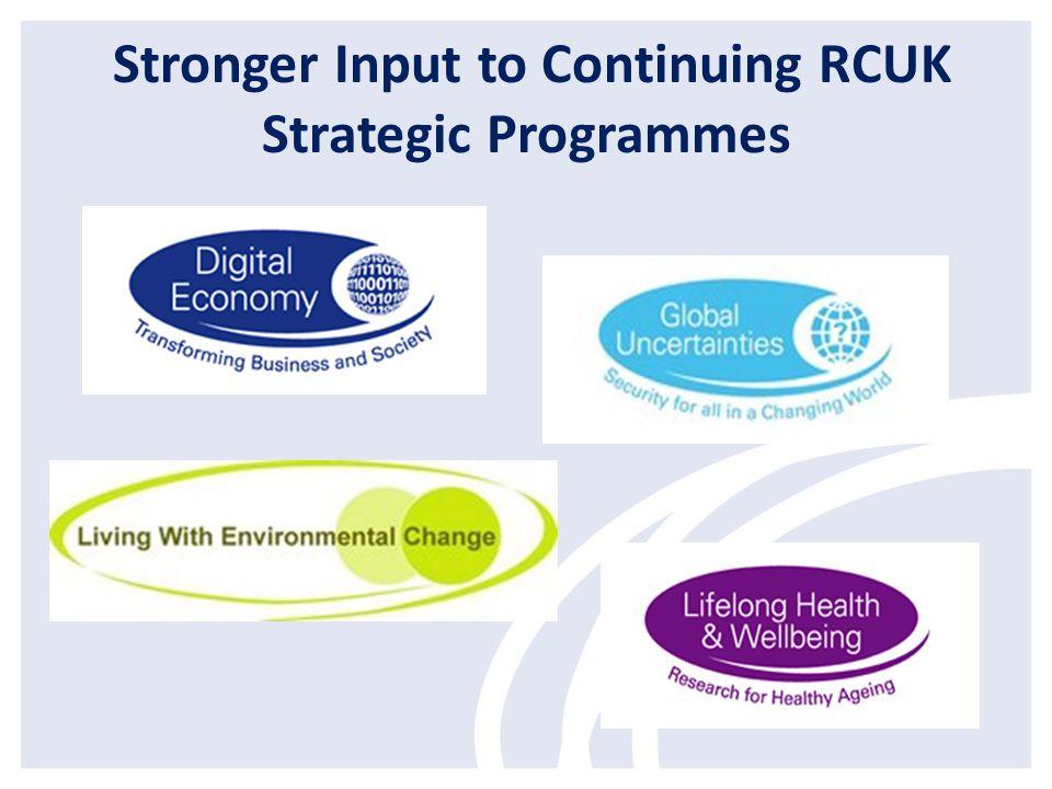 CONNECTED COMMUNITIES Connecting Research for Flourishing Communities RCUK Partners AHRC (lead), EPSRC, ESRC, MRC & NERC)