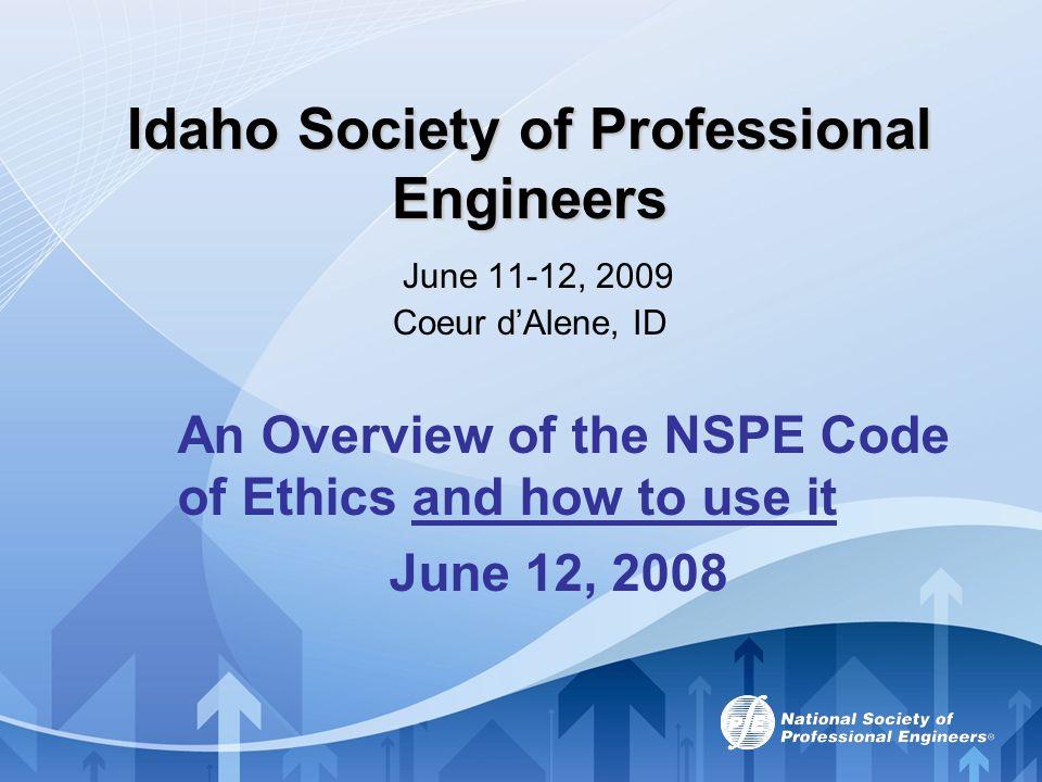 MODERATOR Michael Hardy, P.E., F.NSPE NSPE Vice-President