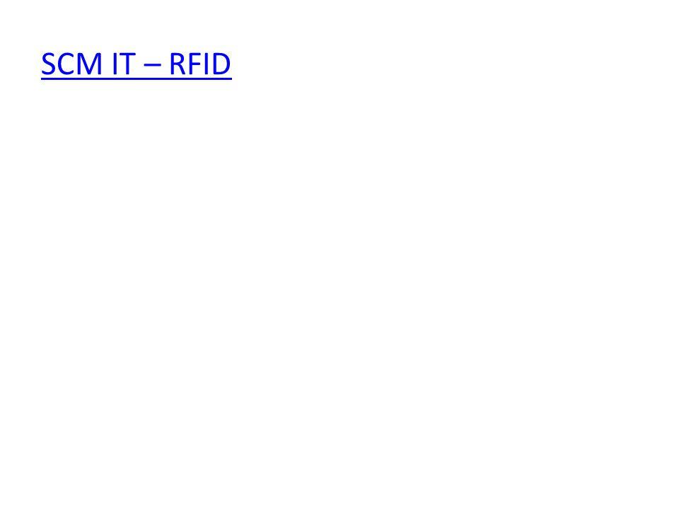 SCM IT – RFID