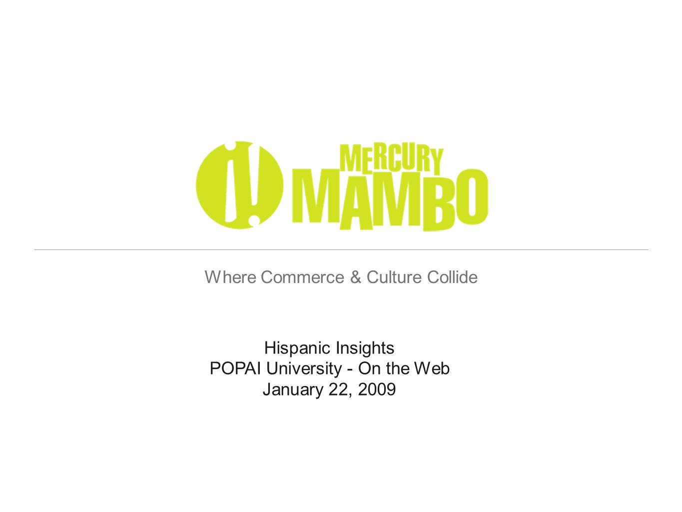 Agenda Speaker Introduction Changing Face of America Cultural Nuances - Hispanics Hispanic Shopper Insights In-Store Opportunities Insights into Action - 7UP Case Study Questions