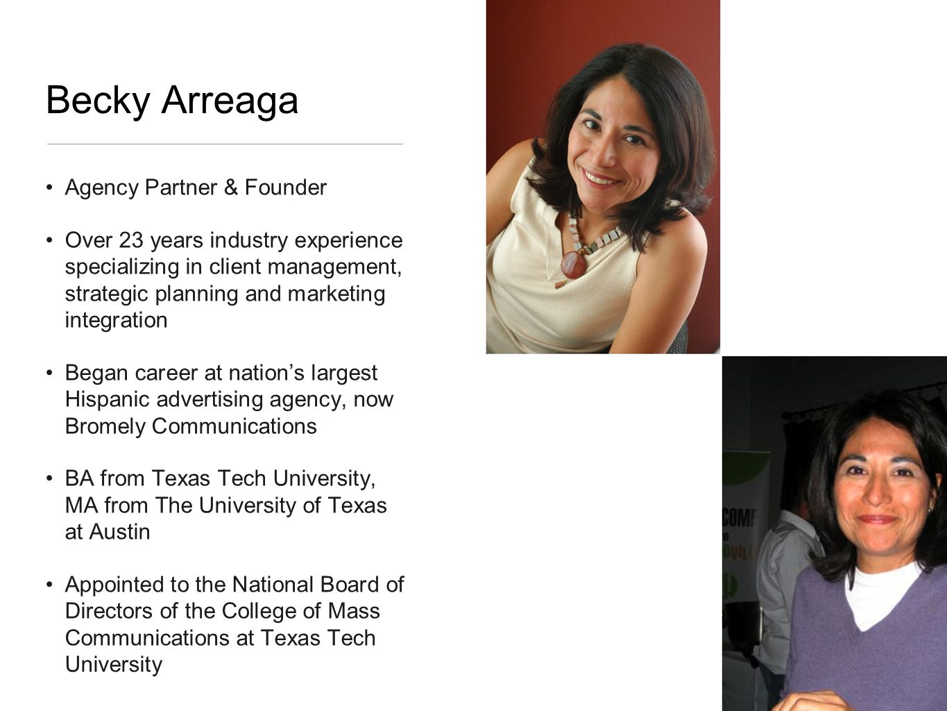 Full-service Hispanic agency specialize in strategic below-the-line marketing driven by real-time consumer and marketplace insights Seasoned team of marketing junkies with 20+ years experience in segment marketing and sales activation Network of Market Ambassadors in the top 25 Hispanic markets Based in Austin, TX and are 100% minority and woman owned Mercury Mambo