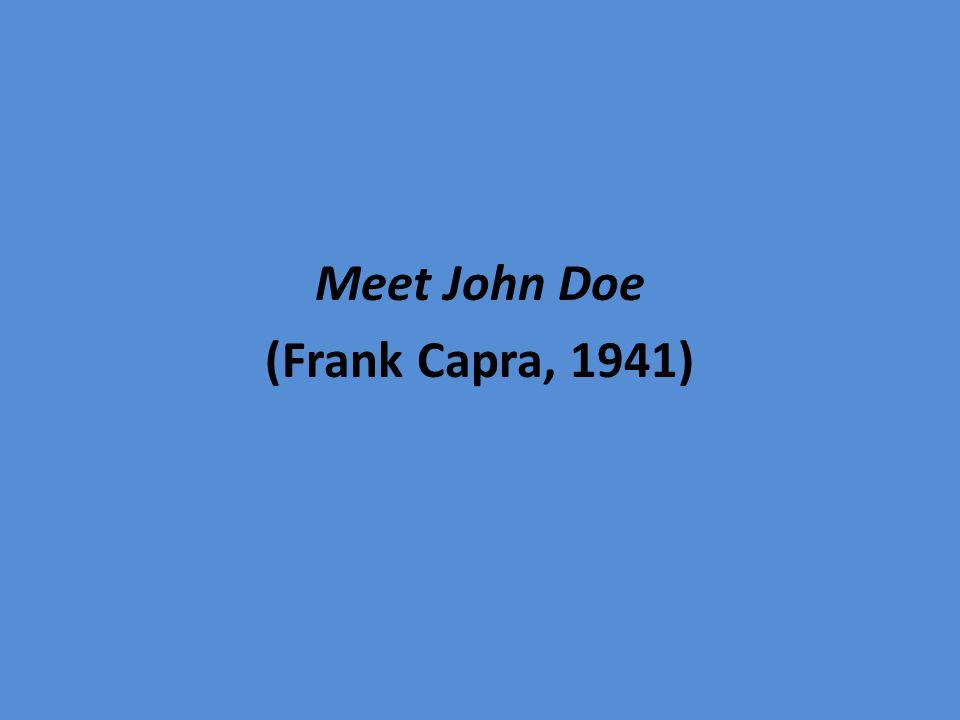 Meet John Doe (Frank Capra, 1941)