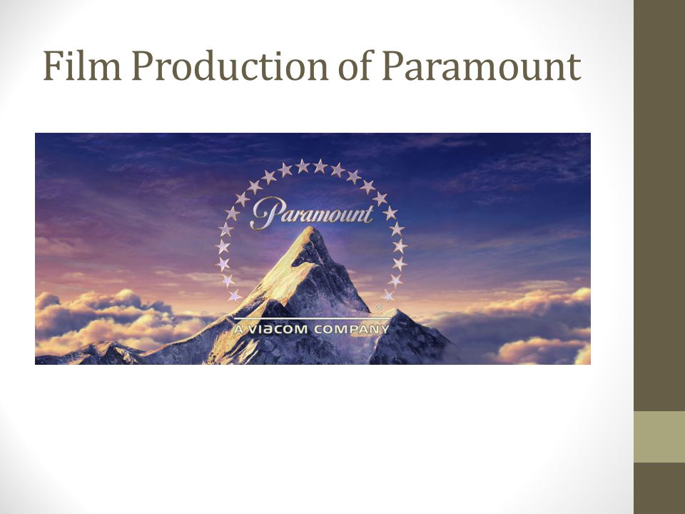 Film Production of Paramount