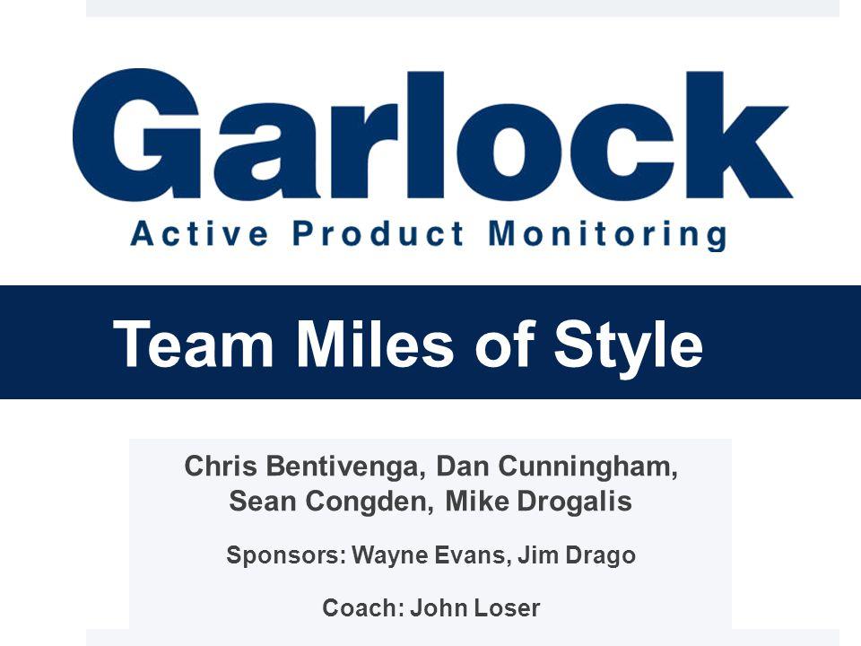 Team Miles of Style Chris Bentivenga, Dan Cunningham, Sean Congden, Mike Drogalis Sponsors: Wayne Evans, Jim Drago Coach: John Loser