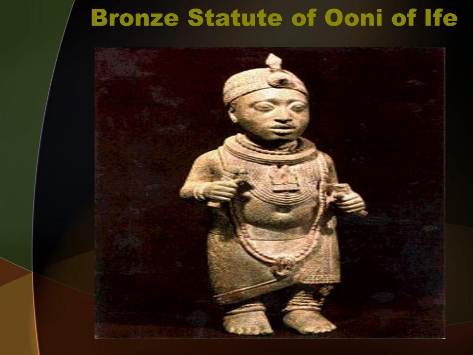 Bronze Statute of Ooni of Ife