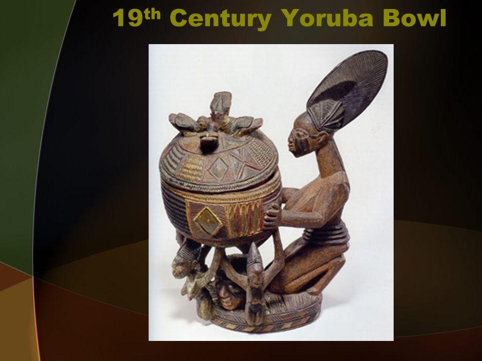 19 th Century Yoruba Bowl