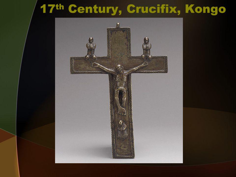 18 th Century Crucifix, Kongo