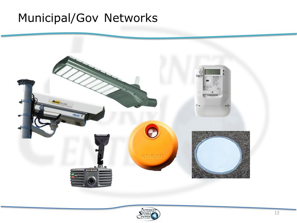 Municipal/Gov Networks 13