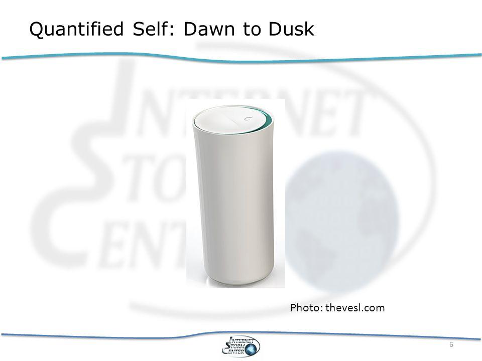 Quantified Self: Dawn to Dusk 7 Photo: Progressive