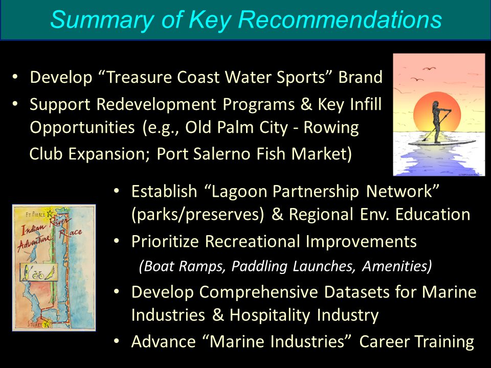 Issue Area: Natural Resources Summary of Key Recommendations Establish Lagoon Partnership Network (parks/preserves) & Regional Env.