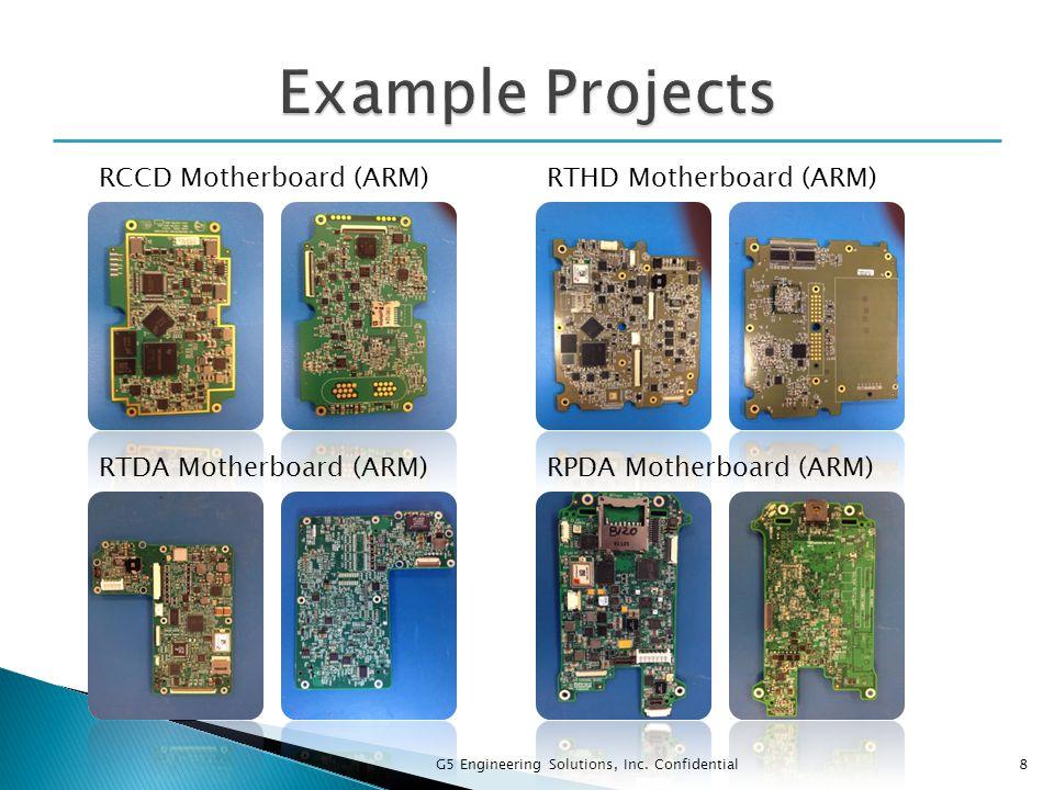 8 RCCD Motherboard (ARM)RTHD Motherboard (ARM) RTDA Motherboard (ARM)RPDA Motherboard (ARM)