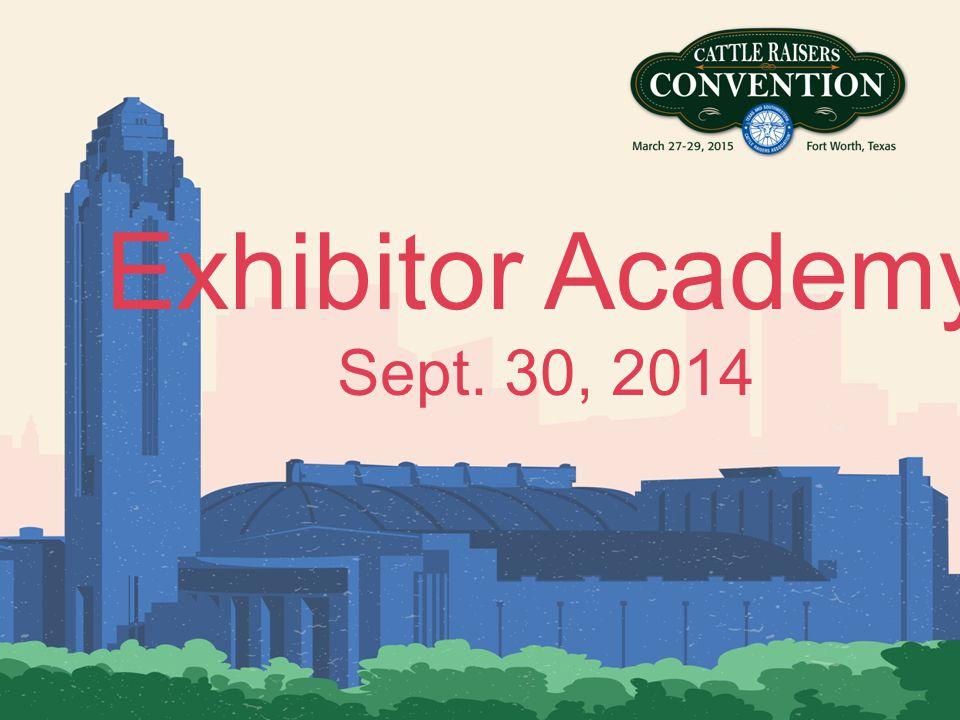 Exhibitor Academy Sept. 30, 2014